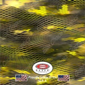 Asper Yellow 3 Camo Decal Wrap Vinyl 52 X15 Truck Print Real Camouflage