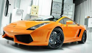 2004 2008 Lamborghini Gallardo Lp560 Front Bumper Conversion Kit W Grills lip