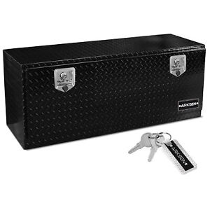 48 Heavy Duty Aluminum Tool Box W Latch Pickup Truck Underbody Trailer Storage