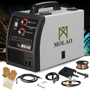 140 Mig Welder Wire feed Inverter Flux Core Wire Automatic Feed Welding Machine