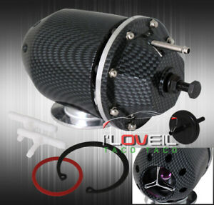 Jdm Carbon Fiber Sqv Ssqv Turbo Bov Blow Off Valve Mitsubishi Evo Lancer Mirage