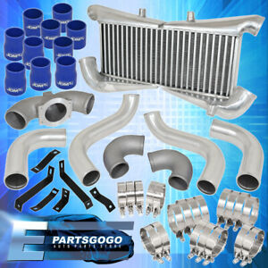 For 1990 1996 300zx Twin Turbo Piping Kit Silver Bolt On Intercooler