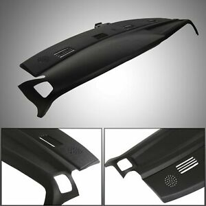 For 2002 2003 2004 2005 Dodge Ram Dash Cover Cap One Piece Overlay Black