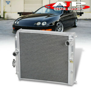3 Row Aluminum Radiator For 1992 2000 Honda Civic Ej Ek Del Sol Eg Integra Db Dc