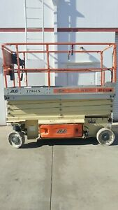 2008 Jlg 3246es 32 Electric Scissor Lift Aerial Manlift Work Platform Extension