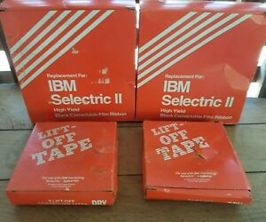 Nos 9 Vintage Ibm Selectric Ii High Yield Correctable Ribbon 10 Lift off Tape