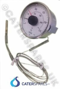 Frying Chip fish Range Fryer Temperature Thermostat Clock Control Dial 80mm 250c