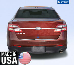 Chrome Accessories Rear Bumper Trim For 10 19 Ford Taurus 1p