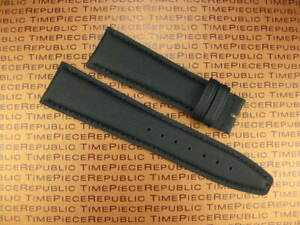21mm Black Leather Strap Fabric Kevlar Watch Band for IWC PILOT Spitfire Top Gun $34.95