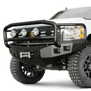 For Chevy Silverado 1500 14 15 Bumper Stealth Series Full Width Raw Front Winch