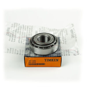 1 Pcs Timken Lm11949 Lm11910 Cup Cone Tapered Roller Bearing New Free Ship