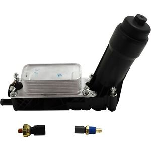 New Oil Filter Housing For Town And Country Jeep Grand Cherokee Dodge 05184294ae