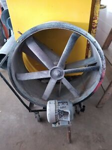 Binks Spray Booth Fan Explosion Proof
