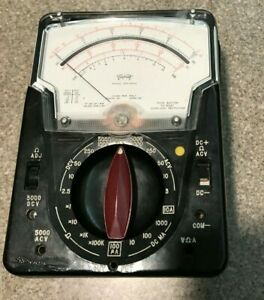 Triplett 630 Aplk Vom Multimeter Type 1