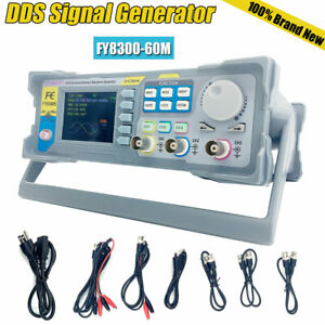Fy8300 60m Dds Signal Generator Frequence Functions 3 channel Arbitrary Waveform