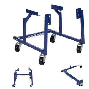 1000lb Auto Engine Cradle Stand Repair Lift Tool For Ford W Dolly