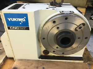 Yukiwa Seiko Cnc Trunion Rotary Table 4th Axis 4 Axes