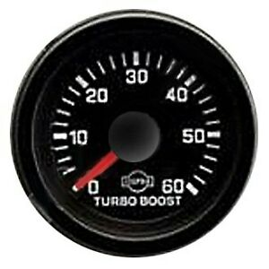 Isspro R5623r Eva R5600 Series 2 1 16 Turbo Boost Gauge 0 60 Psi