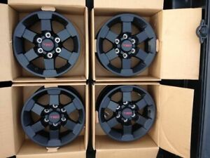 4 16 Off Road Style Matte Black Alloy Wheels Rims For Toyota Tundra 99 06