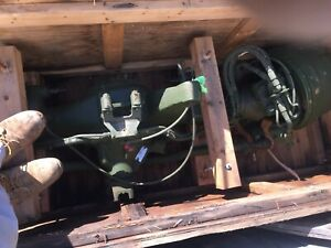 5 Ton Military Front Axle With Air Brakes 6x6 Rock Crawler Government Rebuilt