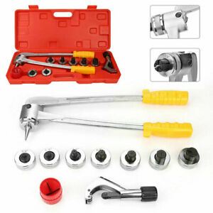 Ct 100 Metal Plumbing Pipe Expander Tool Hydraulic Copper Heads Tube Swaging Kit