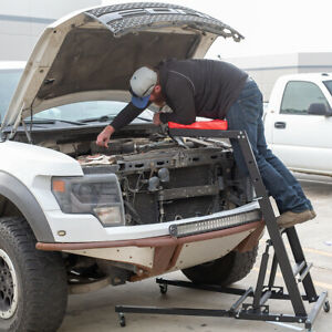 Foldable Topside Creeper Top Easy Engine Access 4 Auto Body Shop Or Home Garage
