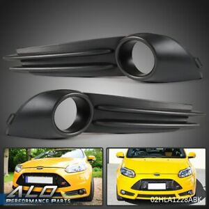 For 2013 2014 Ford Focus St Front Lh Rh Driver Passenger Side Fog Light Bezel