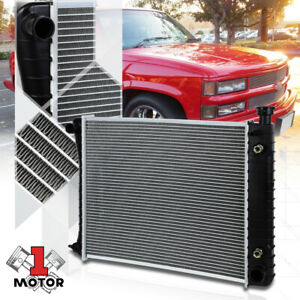 Aluminum Core Radiator Oe Replacement For Chevy Gmc C K Ck Pickup Truck At 434