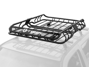 Rooftop Cargo Carrier Topper Luggage For Pickup Truck Car Roof Basket Rack Mount