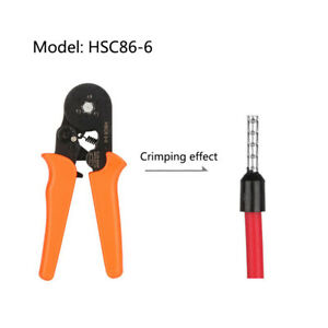 Crimping Pliers Tube Terminal Electrical Connection Cable Clamp Hexagon Hsc8 6 6