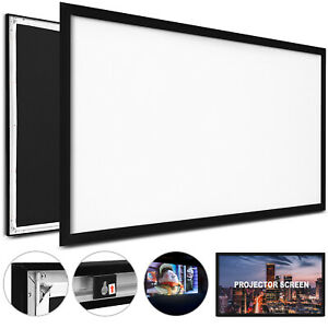 125 16 9 Projector Screen Projection Hd Home Theatre Outdoor Portable Hot
