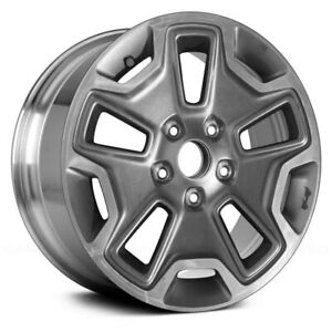 For Jeep Wrangler 13 17 Alloy Factory Wheel 17x7 5 10 Slot Polished