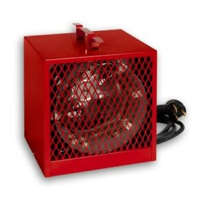 Asch40t Red Construction Heater 4kw 240v