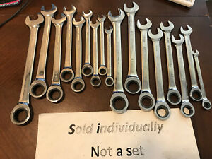 U Pick Gearwrench Tools 12 Pt Ratcheting Ratchet Wrench Sae Metric Spline Drive