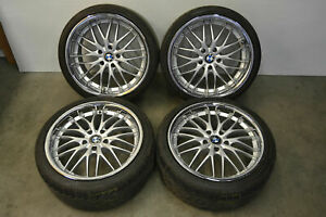 Bmw E46 M3 19 Wheels Alloy Rims 19x8 5 Et35 19x9 5 Et25 Aftermarket 2001 2006