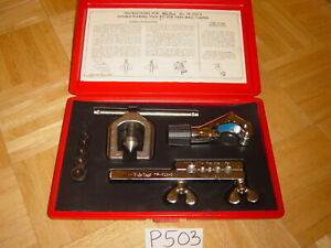 Blue point Tools Tube Cutting Double Flaring Set Tf528d
