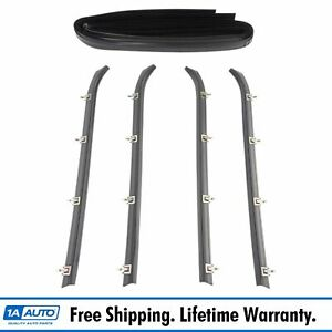 Front Door Weatherstrip Seal Kit Set Of 6 For Chevrolet Gmc G Series Van New