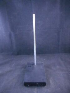 Laboratory Metal Mini Support Stand Base 6 X 4 X 1 With 11 X 3 8 Rod 1 pack