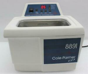 Cole parmer 2 5 Gallon Ultrasonic Cleaner 8891r dth