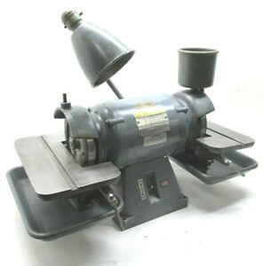 Baldor 6 Carbide Tool Grinder W Diamond Wheels 532