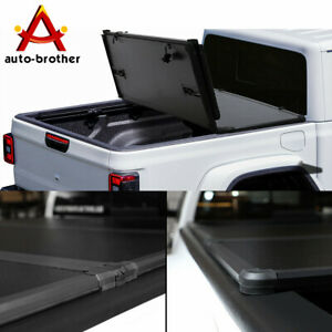 Bed Hard Solid Tri Fold Tonneau Cover For Jeep 2020 Gladiator Jt Pickup Truck