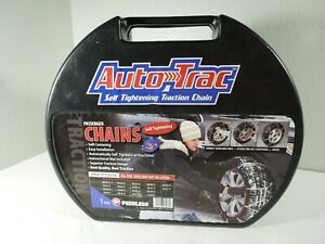 Auto Trac Track 0153510 Tire Snow Chains Self Tightening
