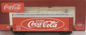✅K-LINE COCA COLA WOOD SIDE REEFER CAR NEW! FITS  TRAIN COKE