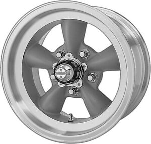 1 American Racing Vn105 Torq Thrust D Wheel Rim Chevy Gm Car 15x6 5x4 75 Lug
