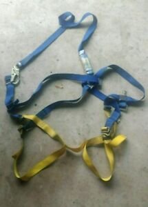 Climbing Harness And Fall Arrest Lanyard