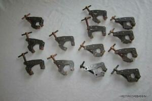Lot Of 13 Kant Twist 1 Inch Clamps No 401 W Copper Machinist Some Are Vtg