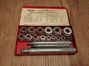 Snap on Tools Blue point A 157a Bushing Driver Set