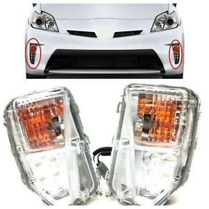 Fog Lamp Set Drl For Toyota Prius 2012 2013 2014 2015 Turn Signal Lh And Rh