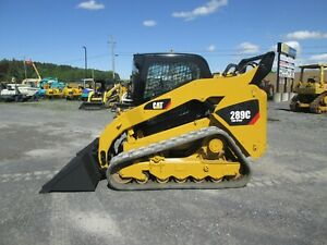 Cat 289c Skid Steer Used 4 Cyl Cat Turbo Diesel Rubber Tracks 3rd Valve