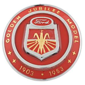 Front Hood Nose Emblem Medallion Fits Ford Naa Golden Jubilee Tractor Naa16600a